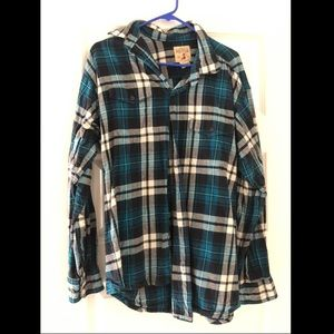 Men's Red Head Brand Co. flannel button up large